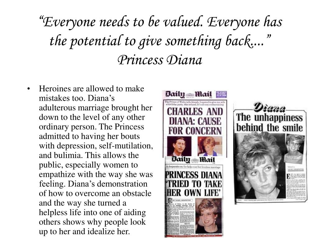 """""""Everyone needs to be valued. Everyone has the potential to give something back...."""""""