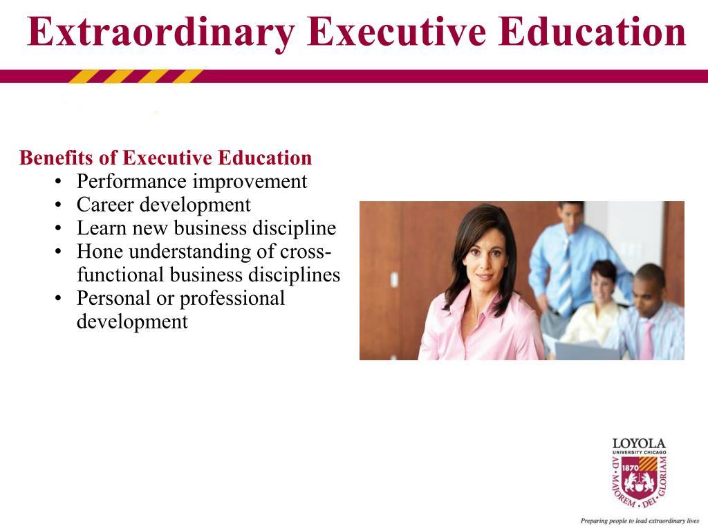 Benefits of Executive Education