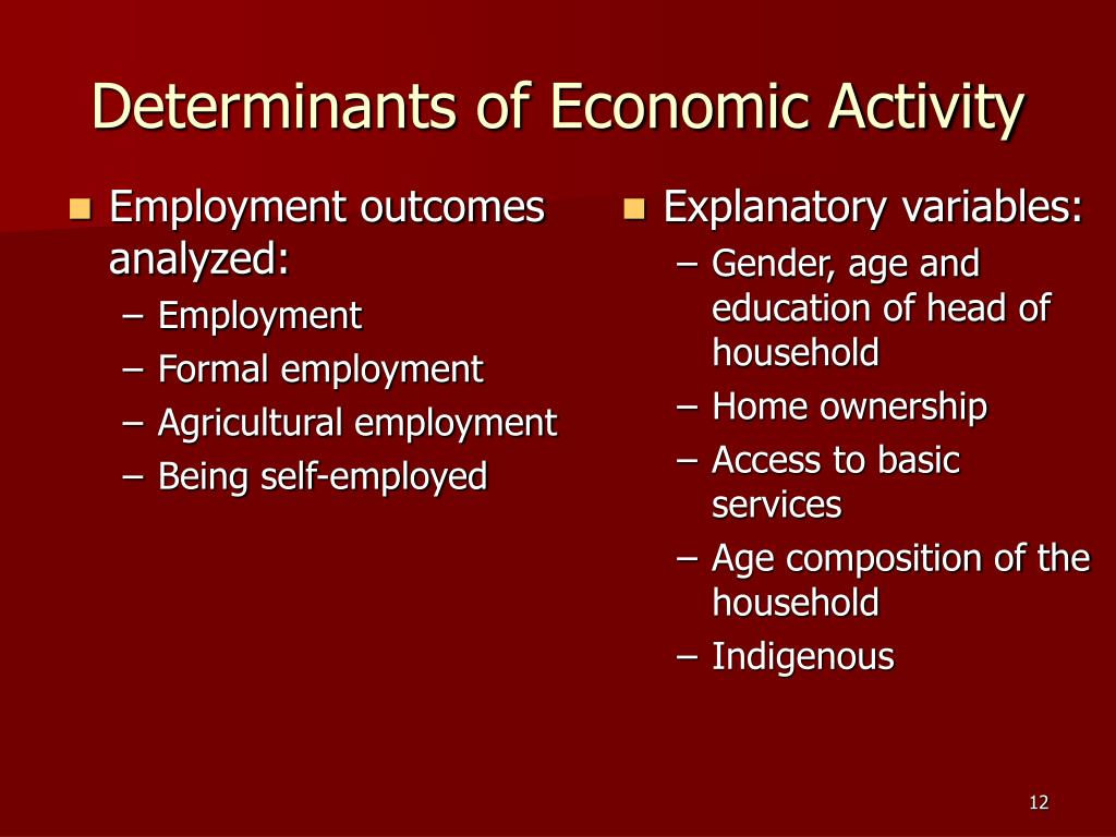 Employment outcomes analyzed: