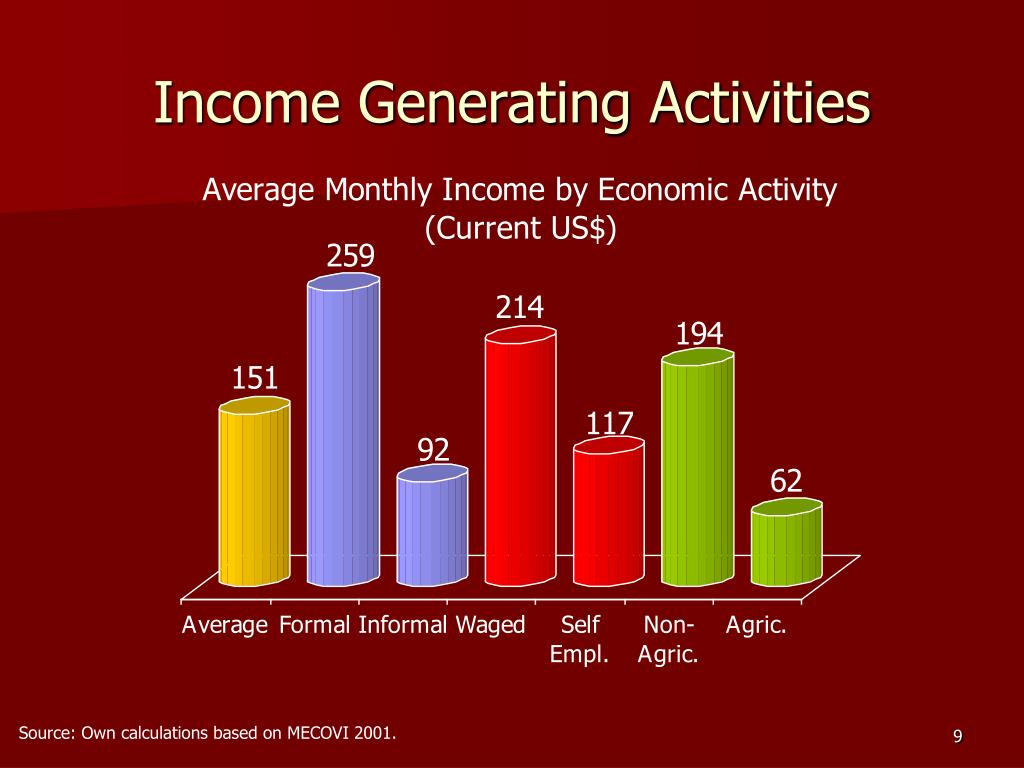 Income Generating Activities
