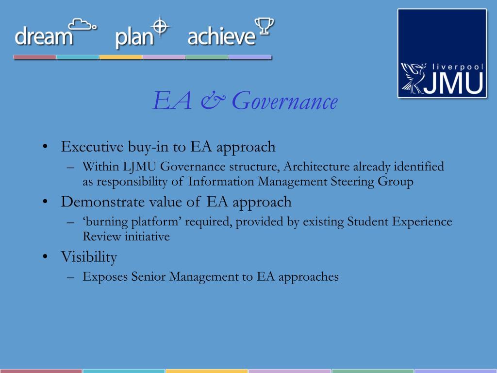EA & Governance