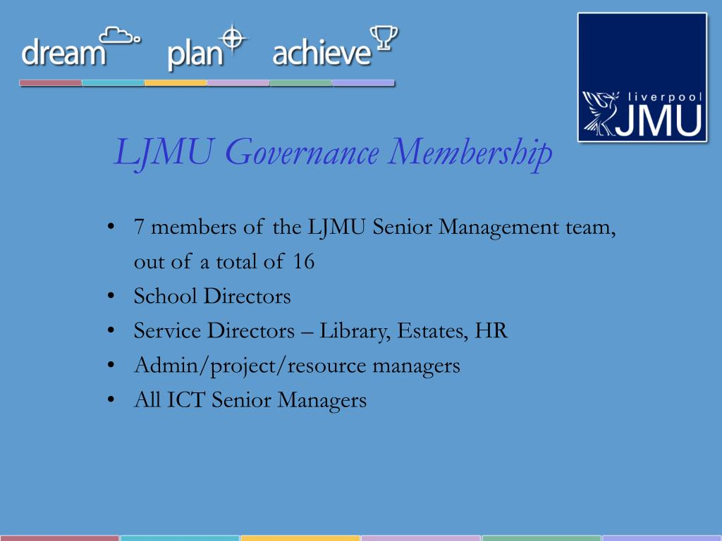 LJMU Governance Membership