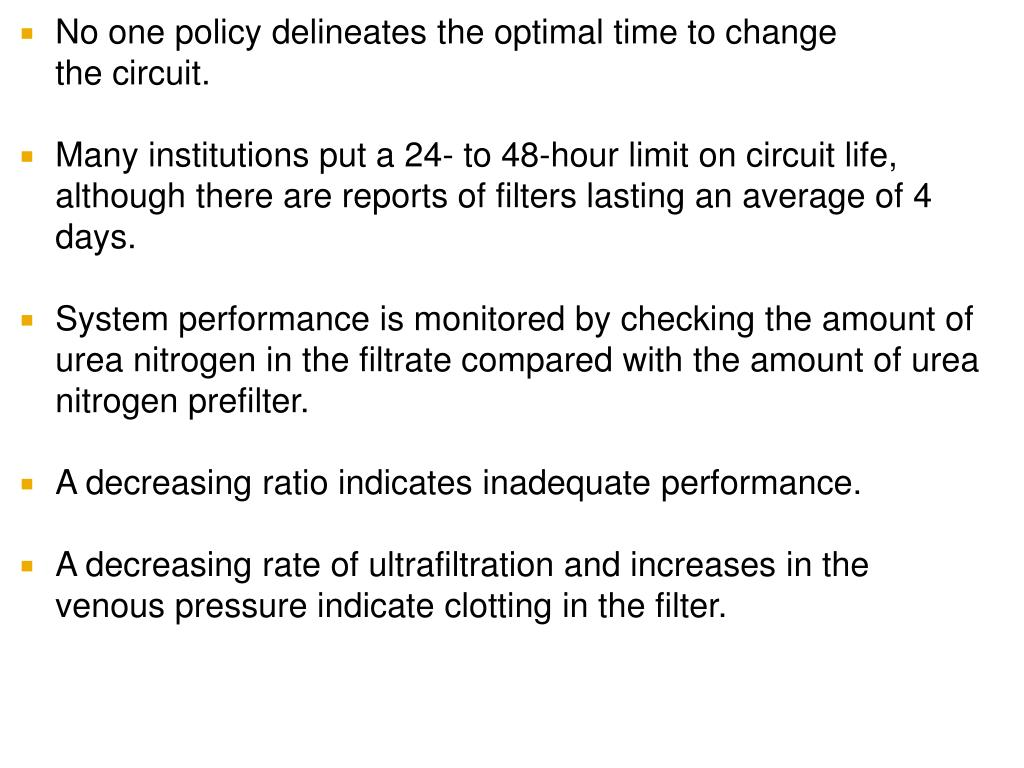 No one policy delineates the optimal time to change