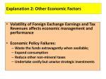 explanation 2 other economic factors