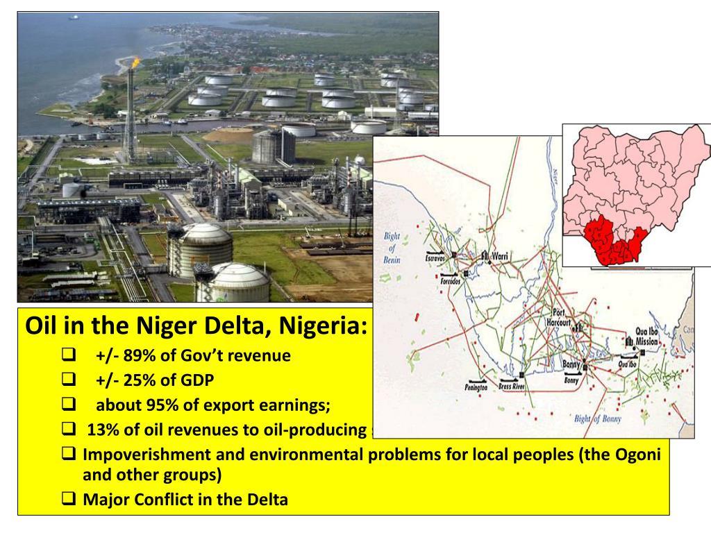 Oil in the Niger Delta, Nigeria: