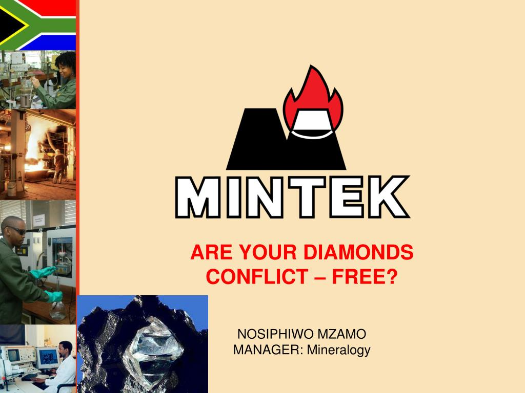 ARE YOUR DIAMONDS CONFLICT – FREE?