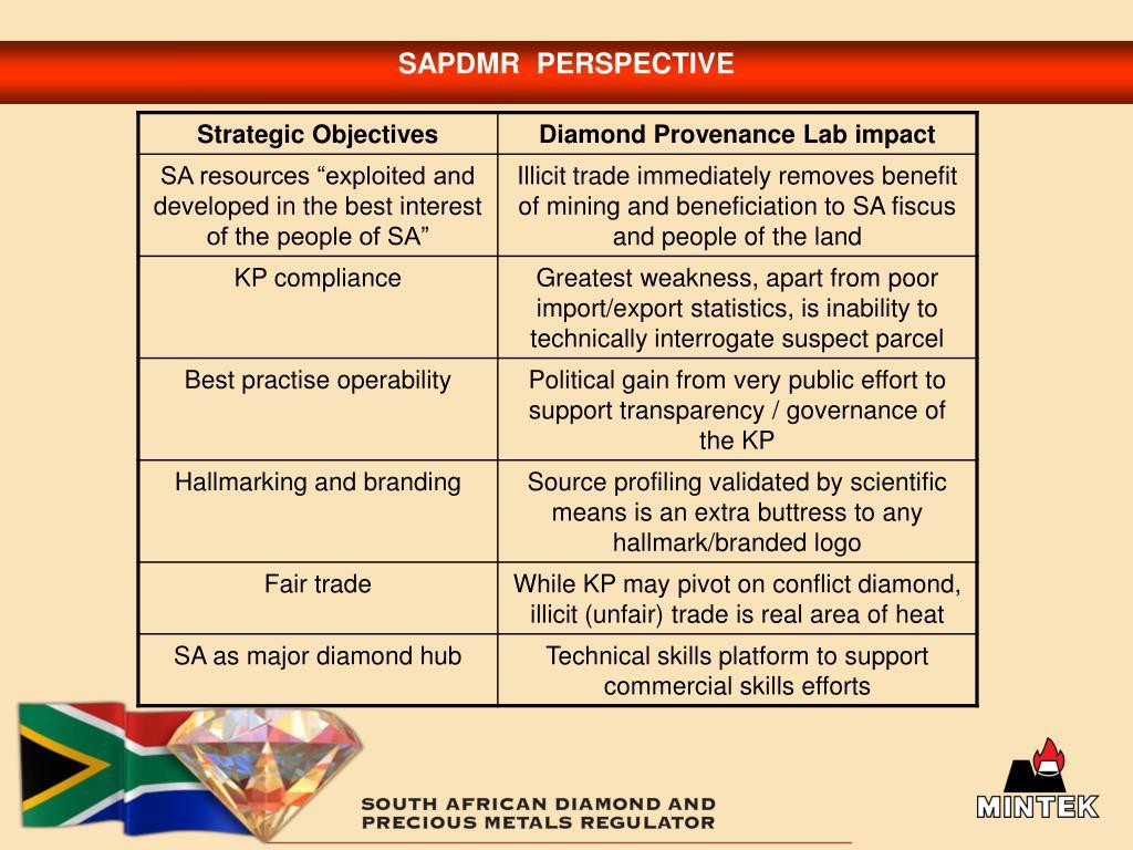SAPDMR  PERSPECTIVE