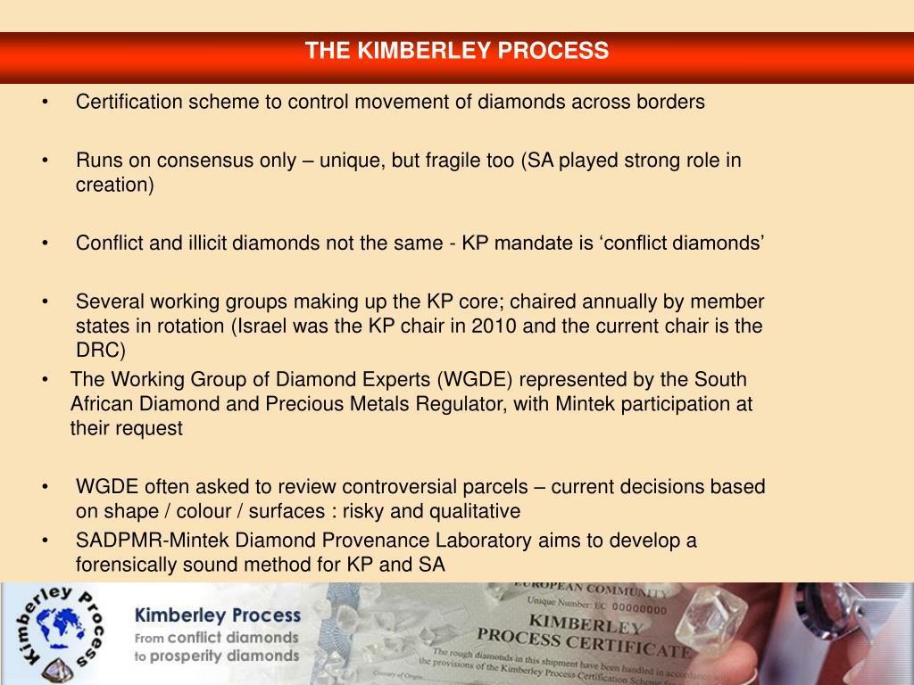 THE KIMBERLEY PROCESS