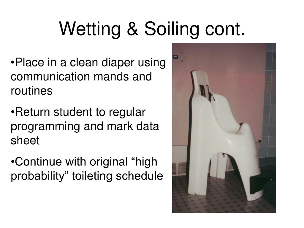 Wetting & Soiling cont.