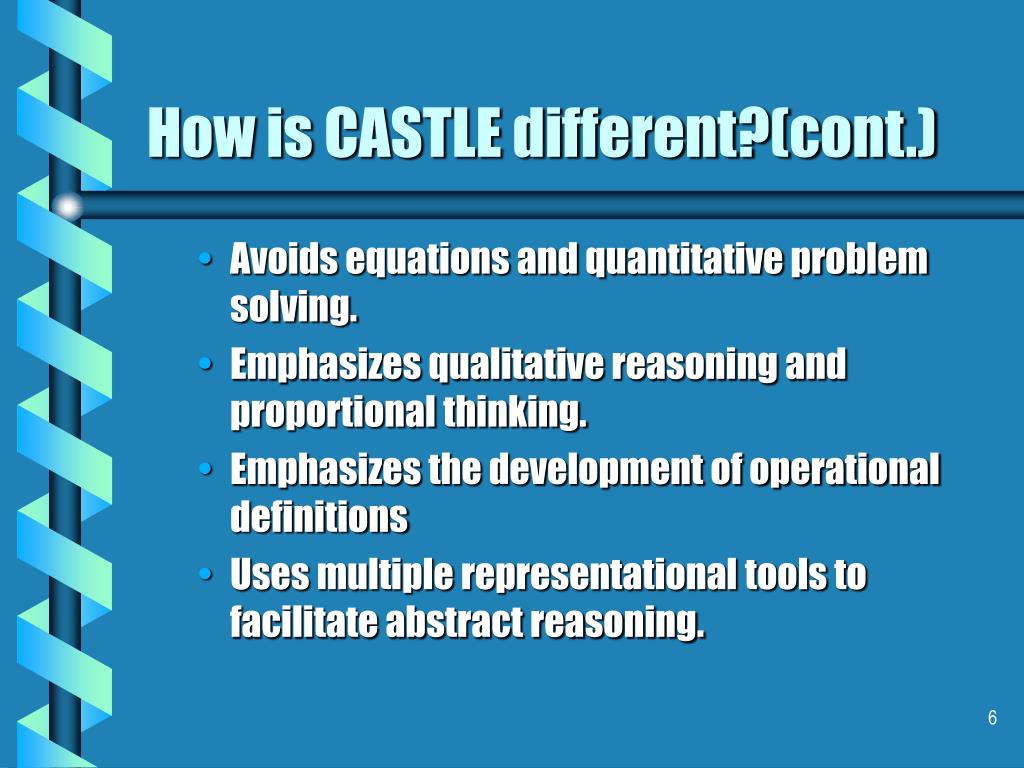 How is CASTLE different?(cont.)