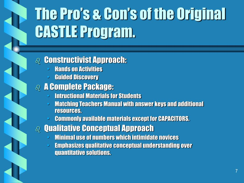 Constructivist Approach: