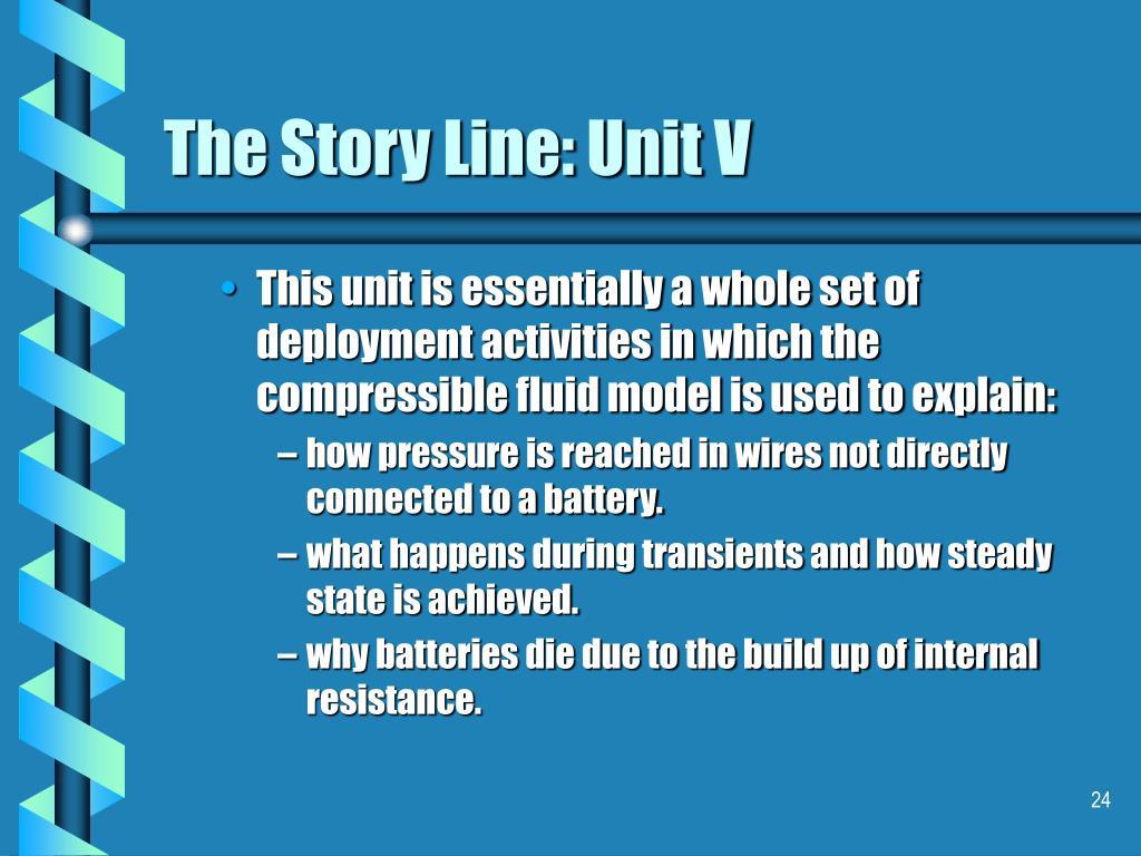 The Story Line: Unit V