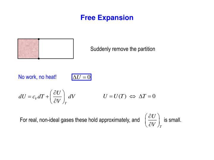 Free Expansion
