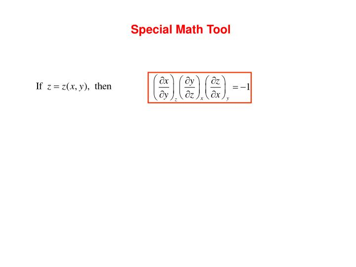 Special Math Tool