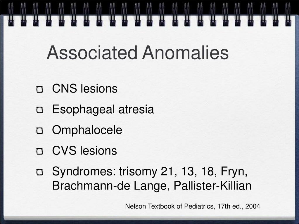Associated Anomalies