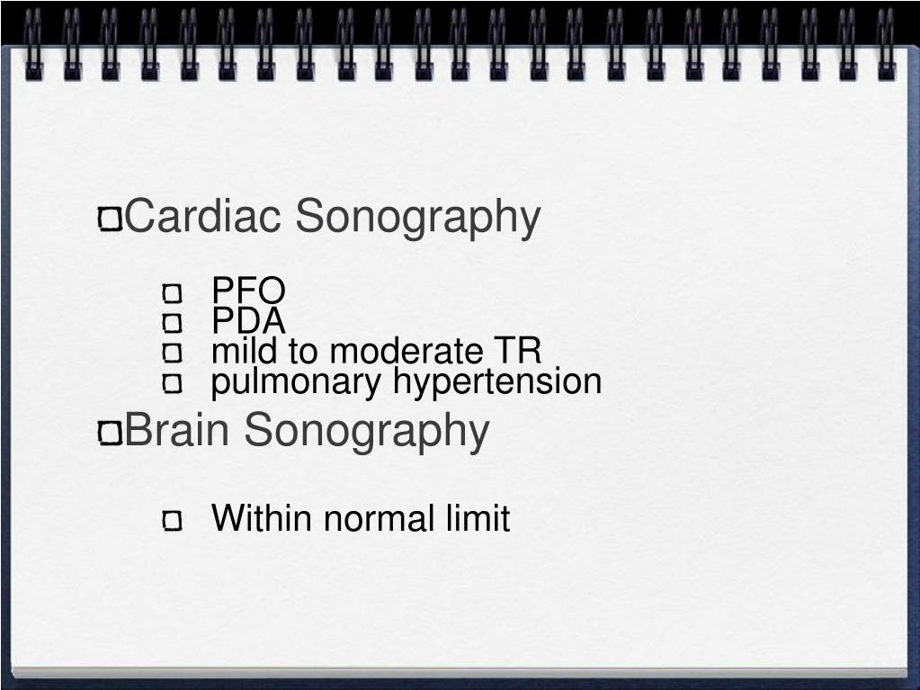 Cardiac Sonography