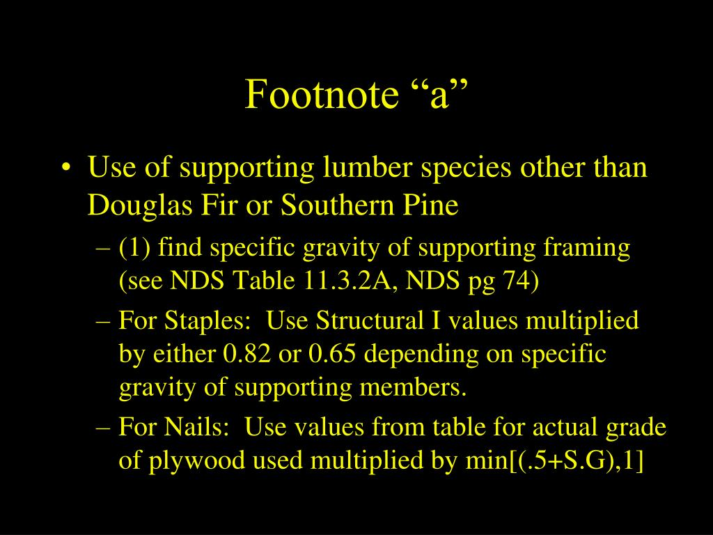 """Footnote """"a"""""""