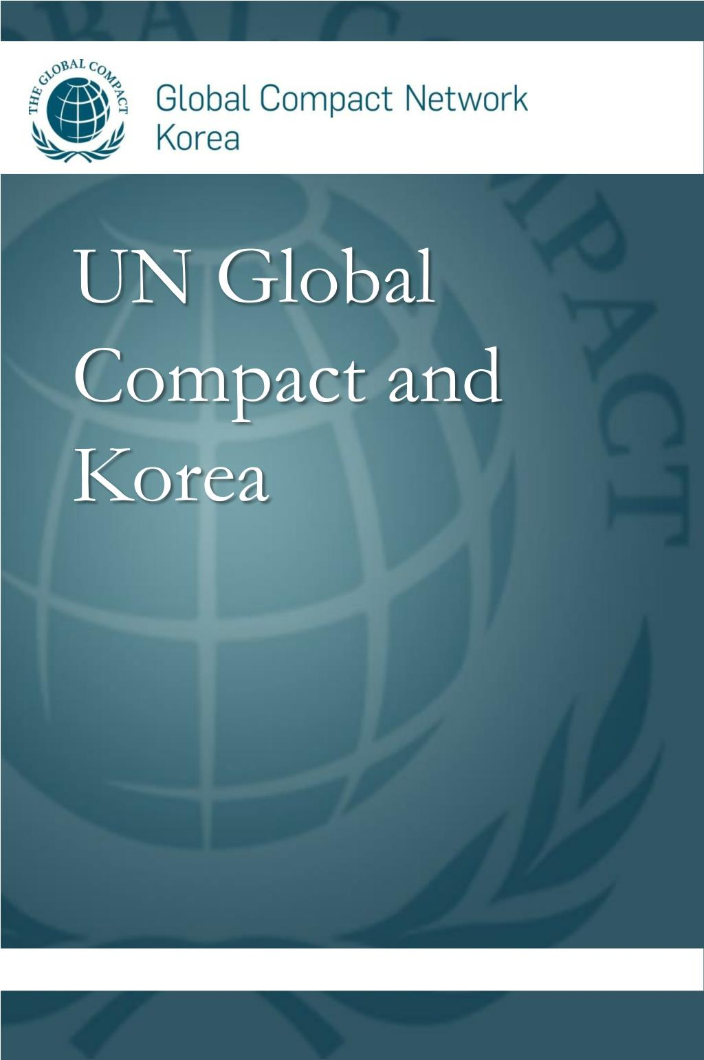 UN Global Compact and Korea