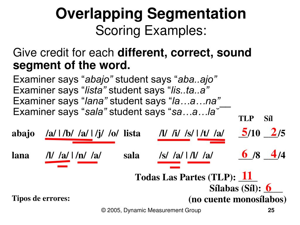 Overlapping Segmentation