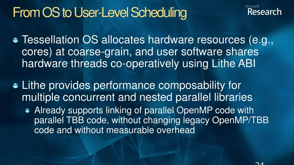 From OS to User-Level Scheduling