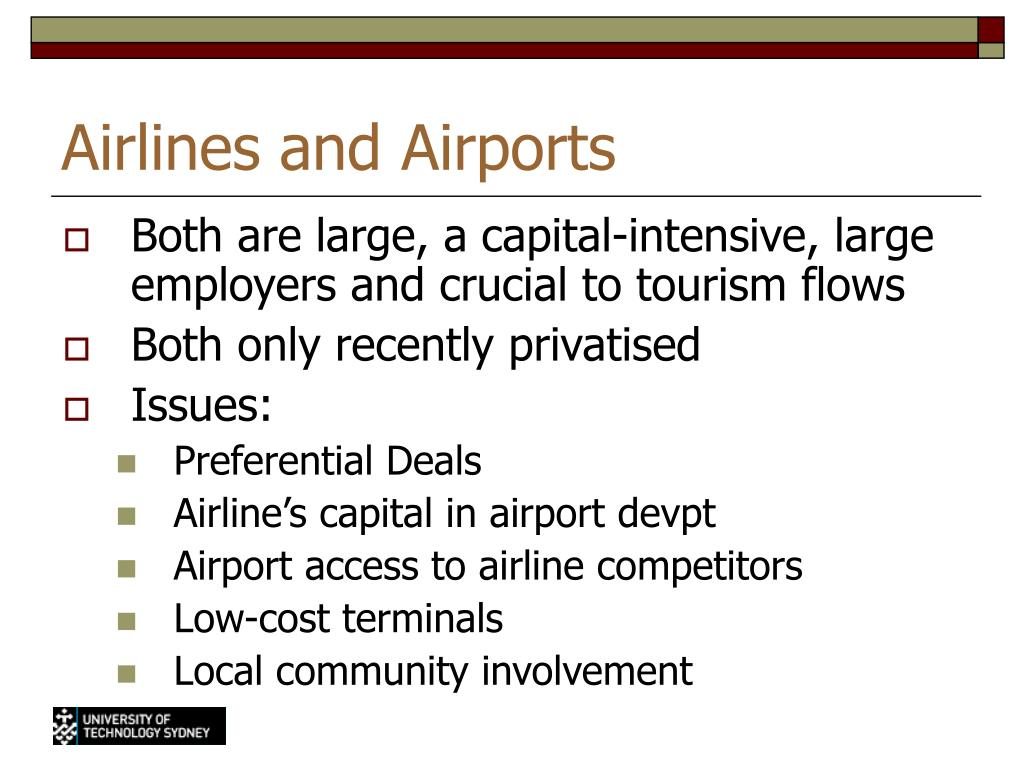 Airlines and Airports