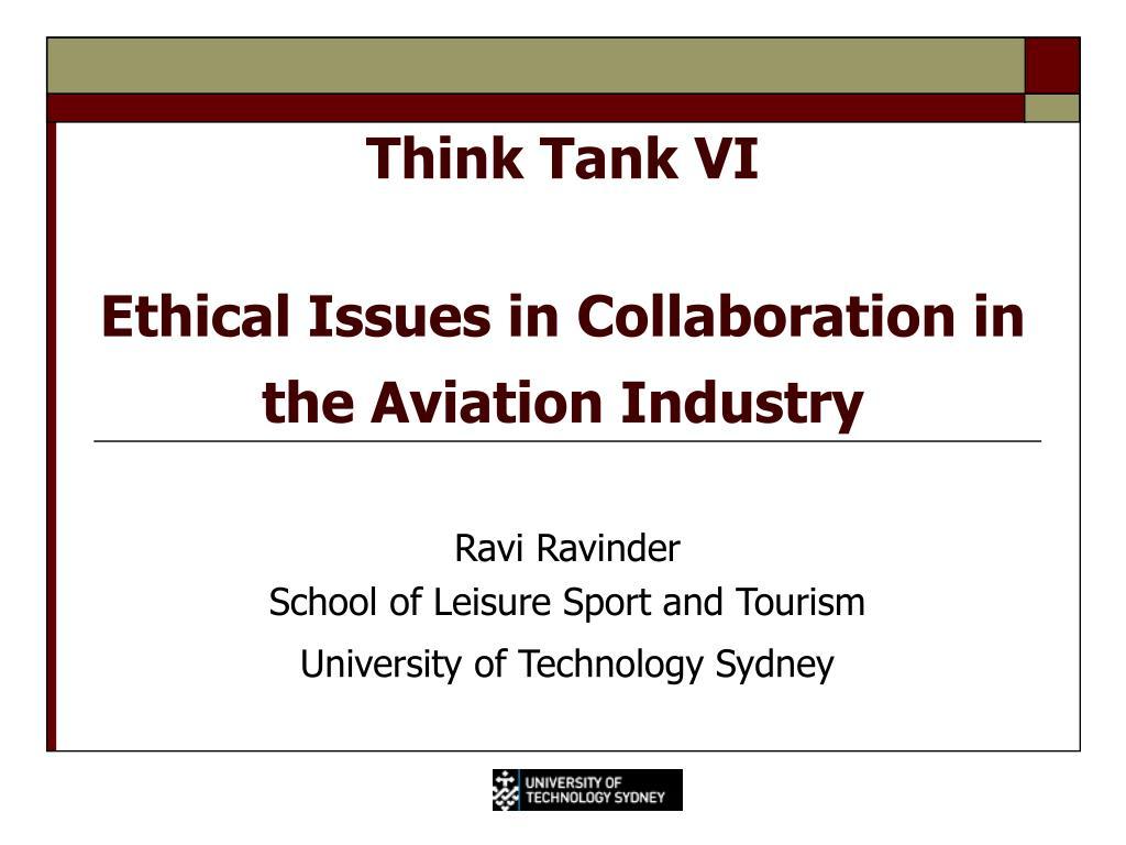 Think Tank VI