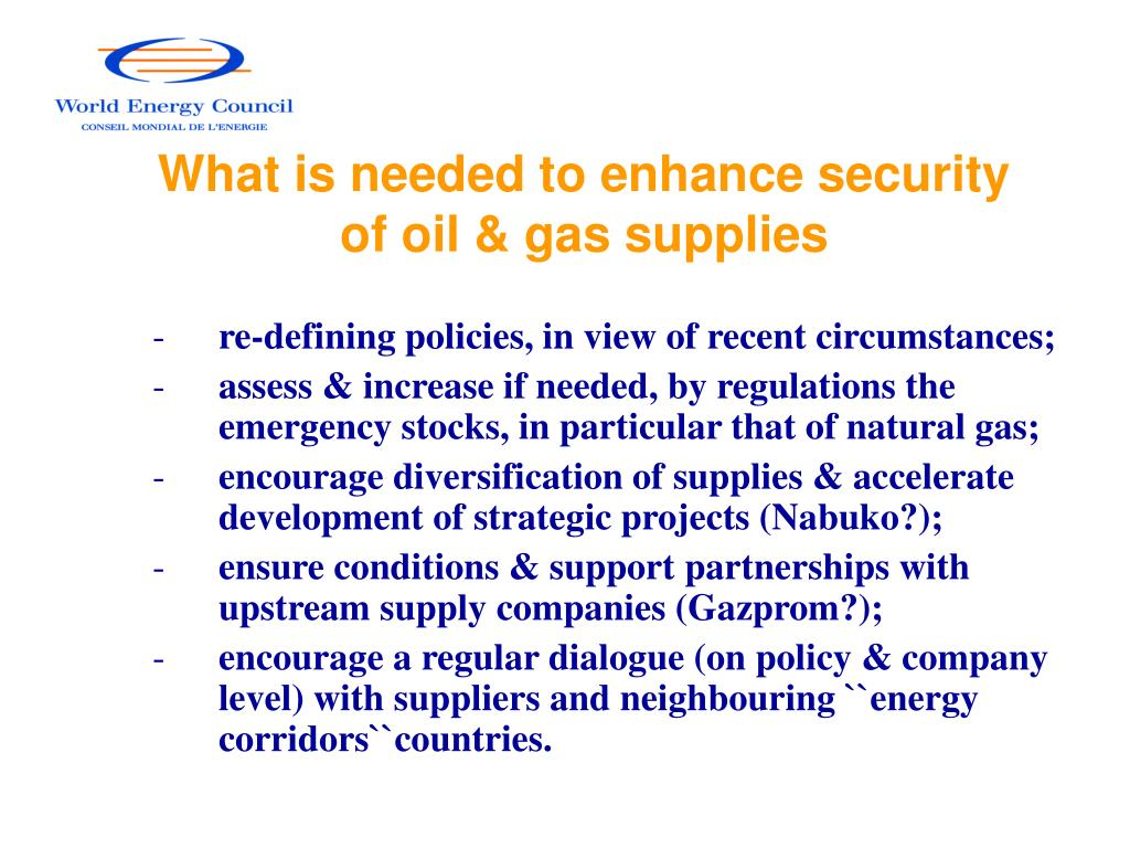 What is needed to enhance security