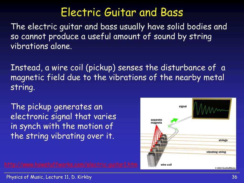 Electric Guitar and Bass
