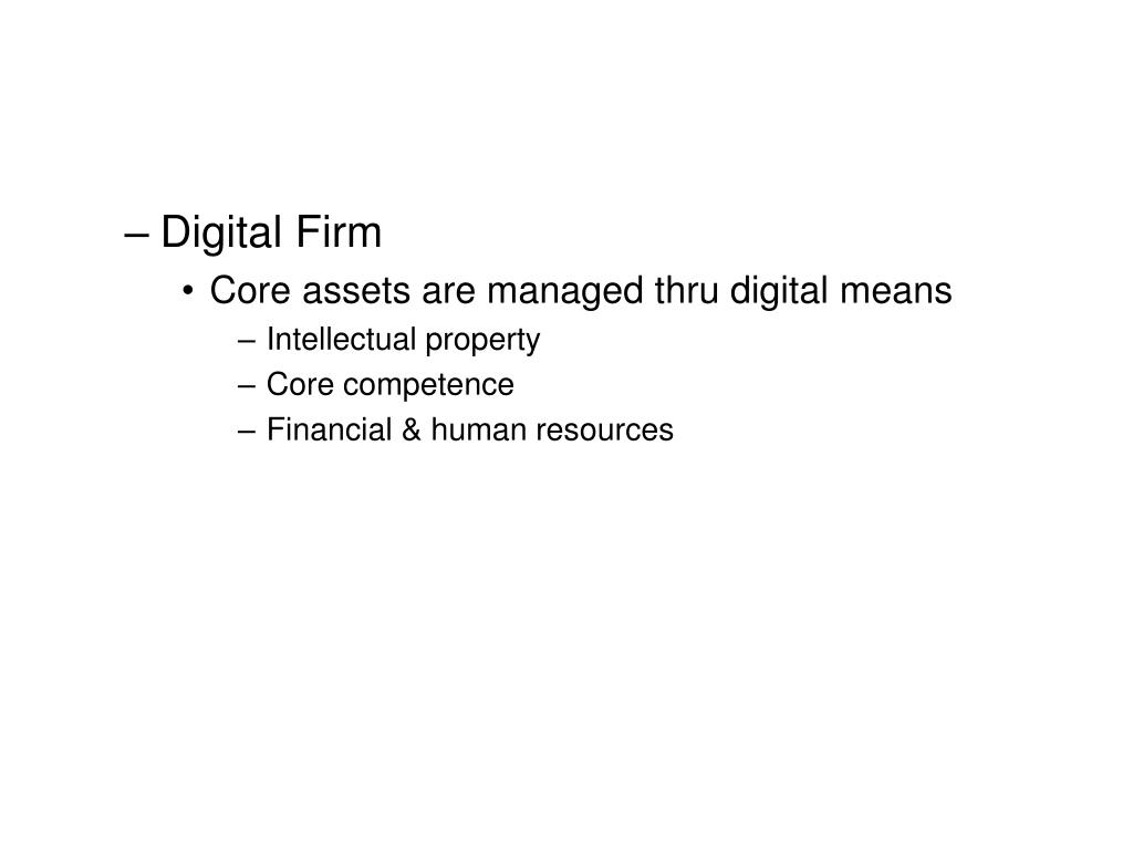 Digital Firm