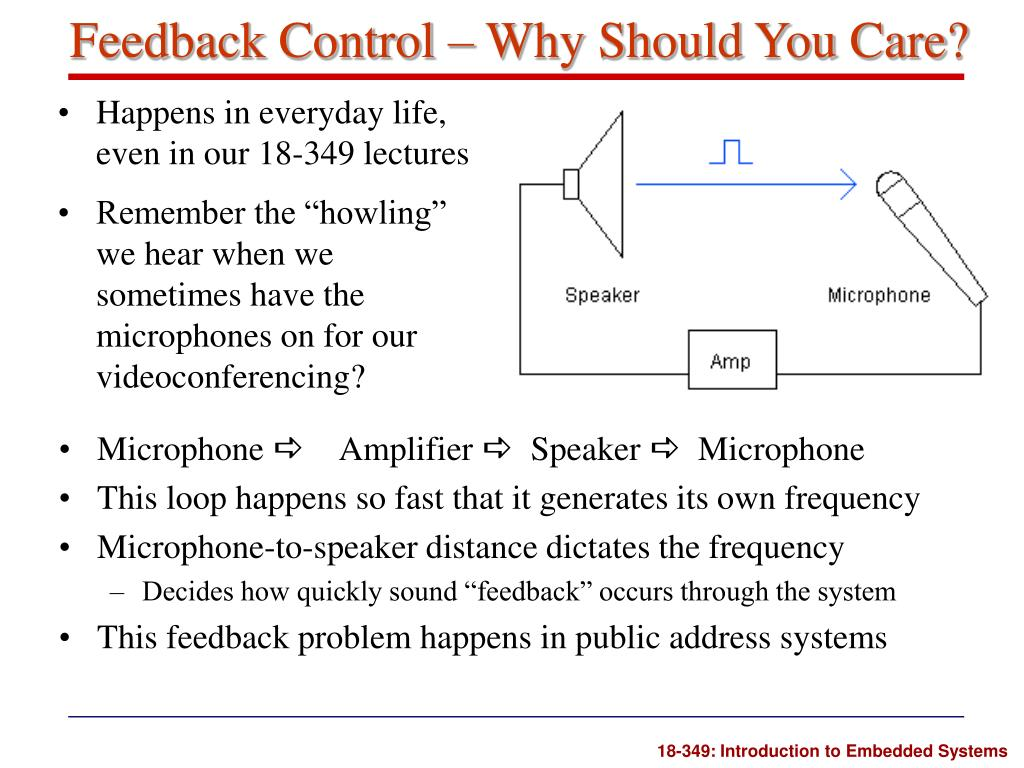 Feedback Control – Why Should You Care?