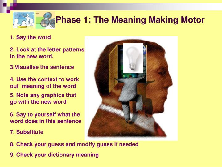 Phase 1: The Meaning Making Motor