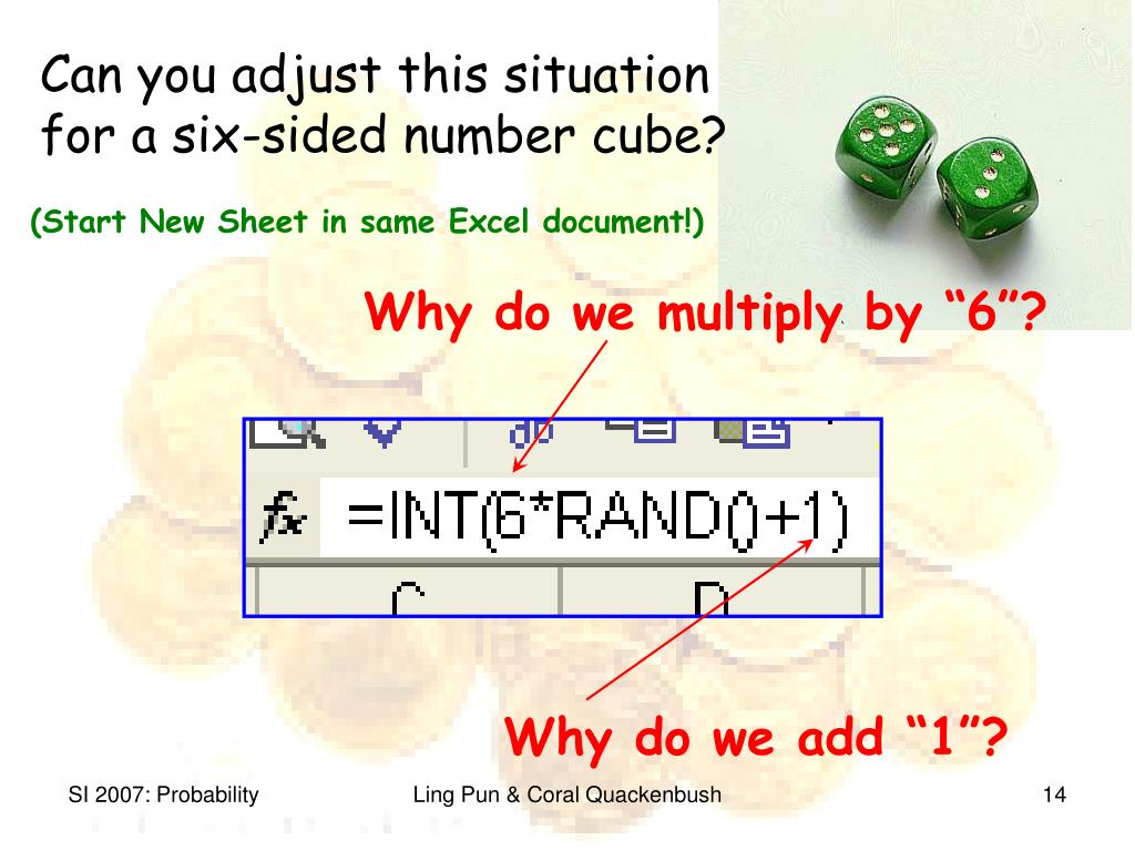 """Why do we multiply by """"6""""?"""