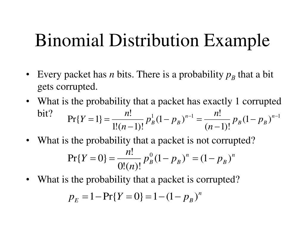 Binomial Distribution Example