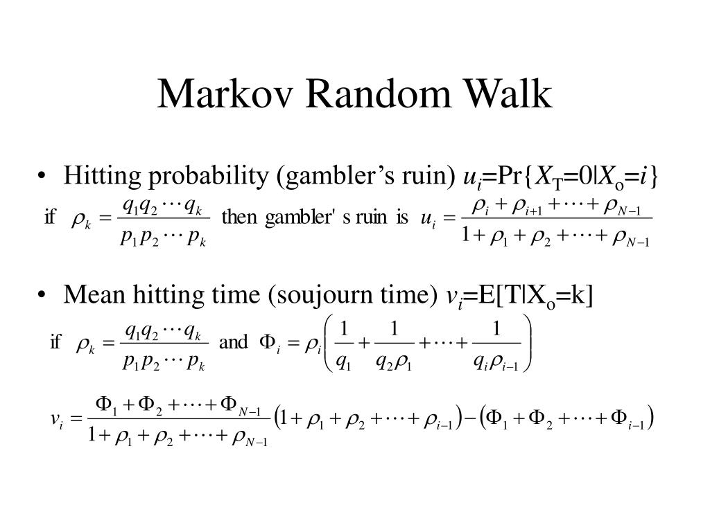 Markov Random Walk