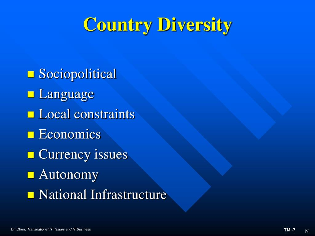 Country Diversity