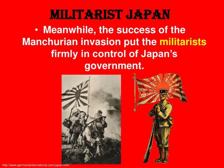 Militarist Japan