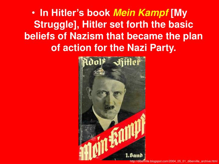 In Hitler's book