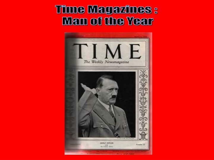 Time Magazines :