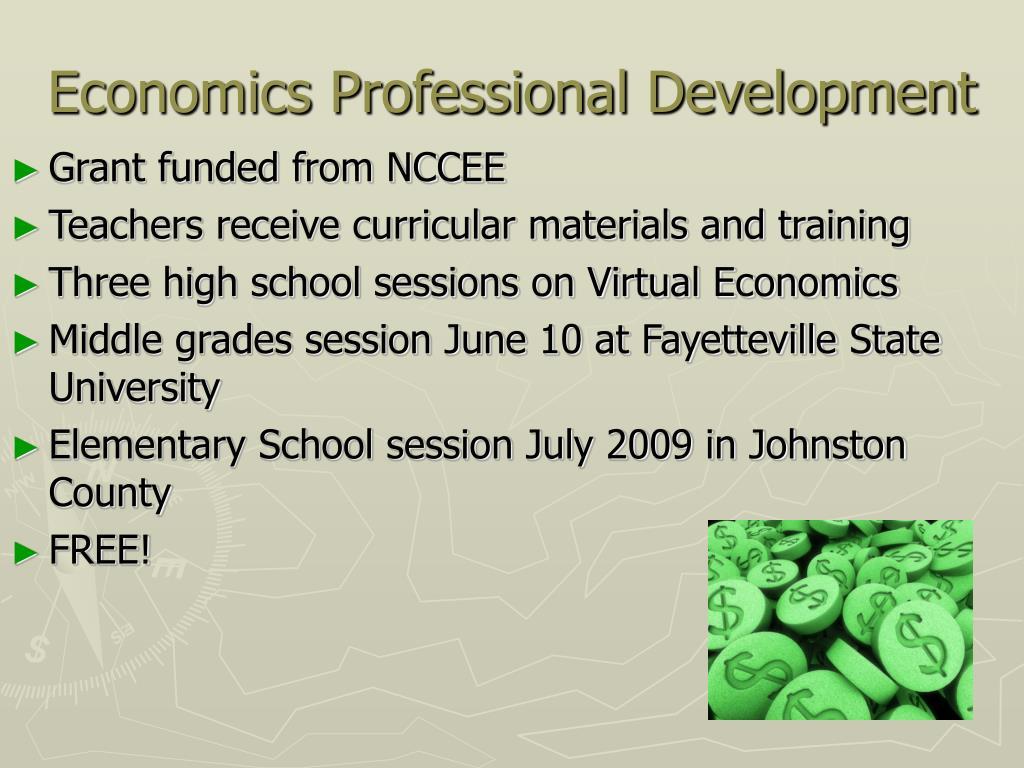 Economics Professional Development