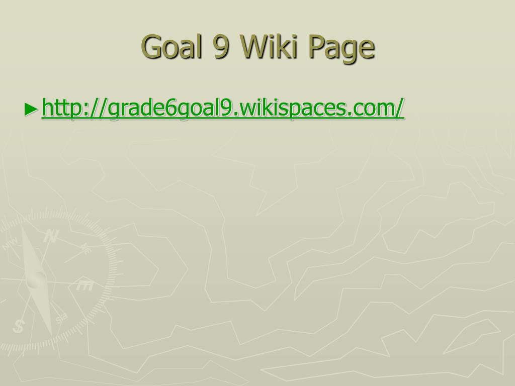 Goal 9 Wiki Page