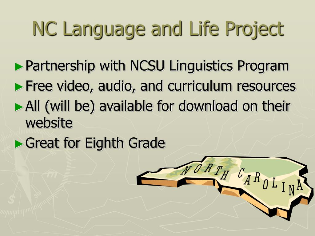 NC Language and Life Project