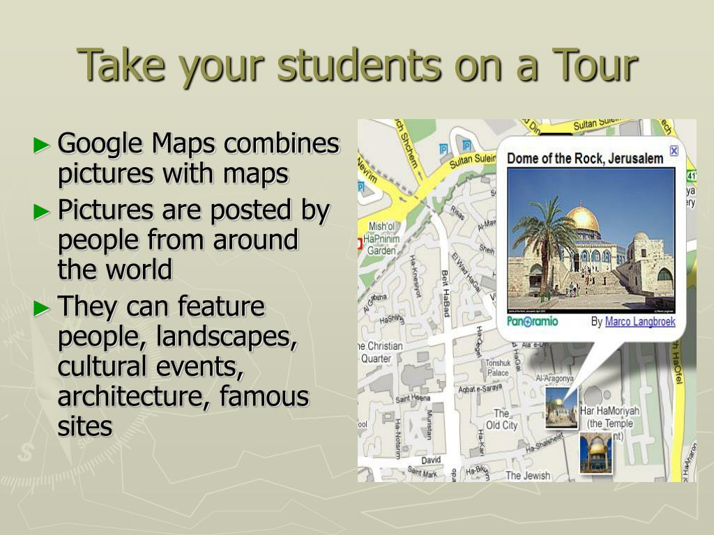 Take your students on a Tour