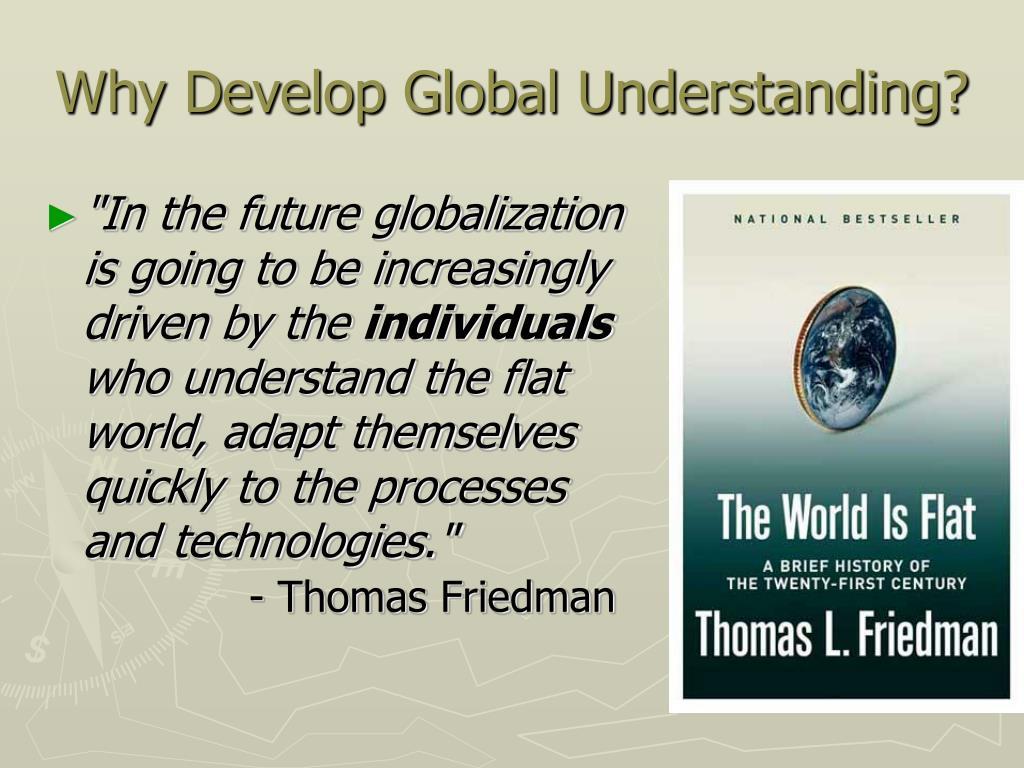 Why Develop Global Understanding?