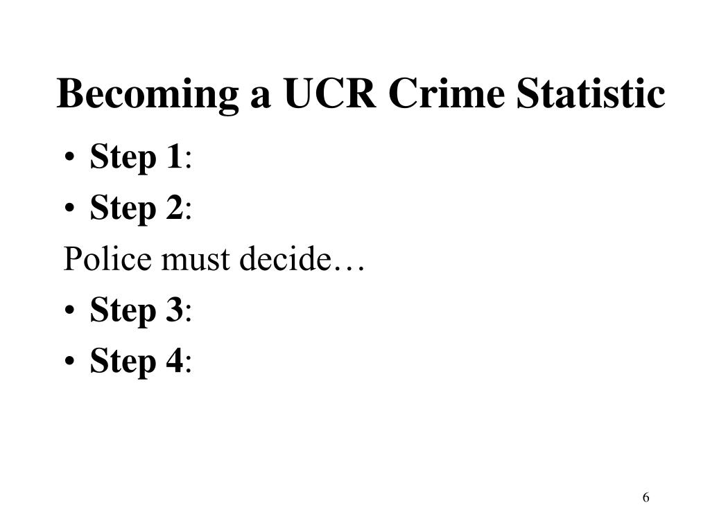 a comparison of uniform crime reportucr and the national crime victimization survey ncvs The national crime victimization survey the survey results are used for the purposes of building a crime index it has been used in comparison with the uniform crime reports and the national incident based reporting system to assess the dark figure of crime.