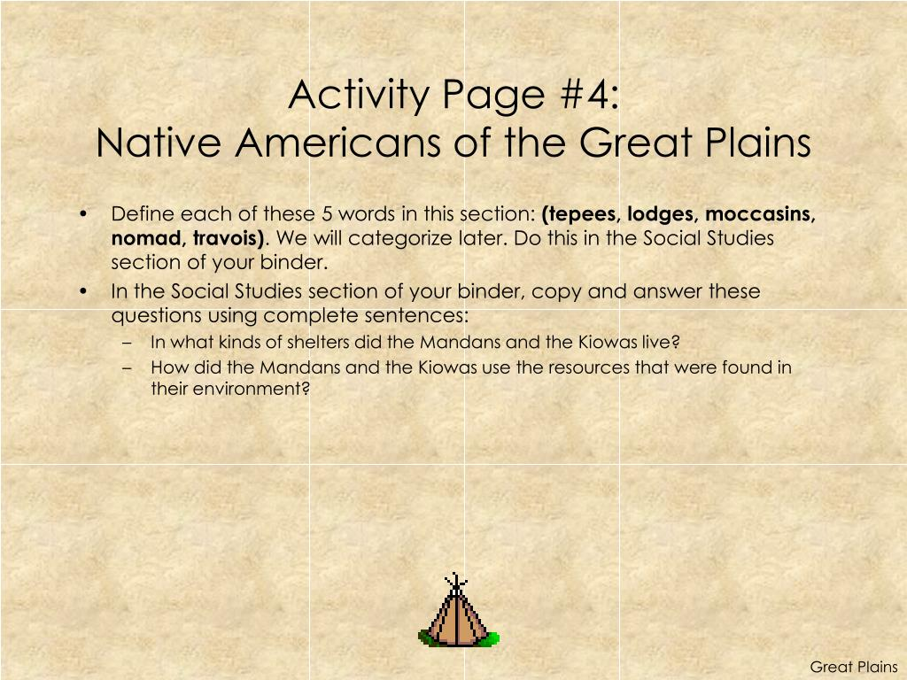 Activity Page #4: