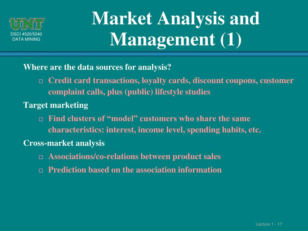 Market Analysis and Management (1)