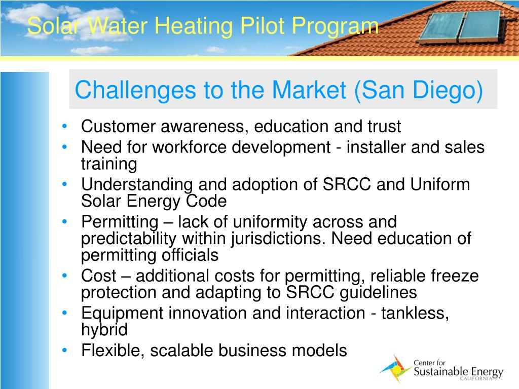 Challenges to the Market (San Diego)