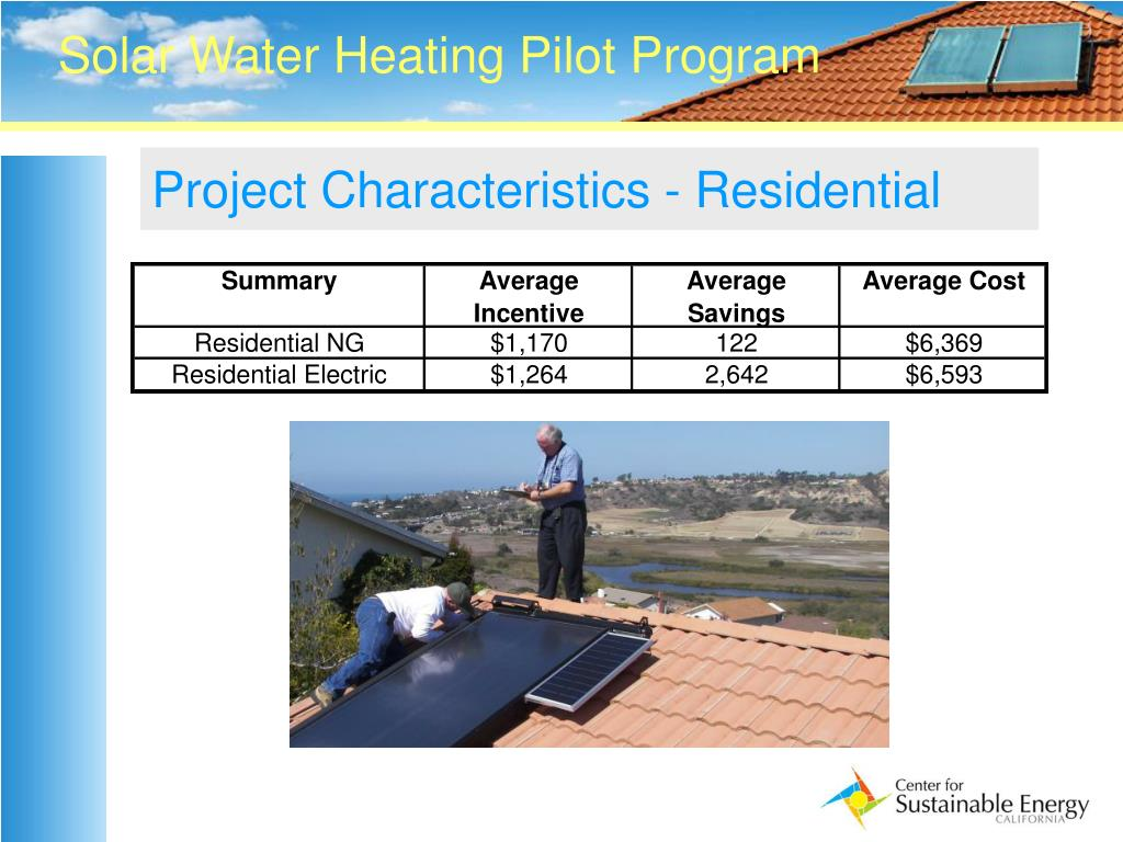 Project Characteristics - Residential