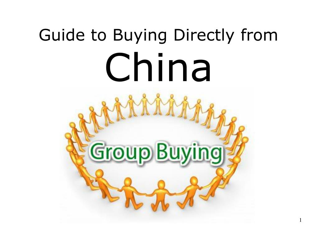 Guide to Buying Directly from