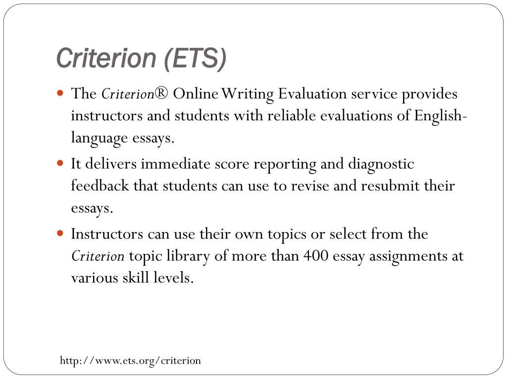 Criterion (ETS)
